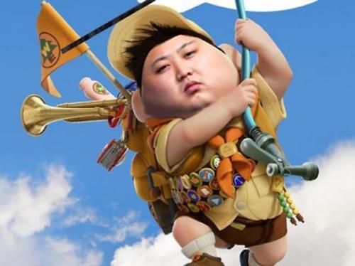 Chế Kim Jong Un, Obama, Putin và Binladen - Breaking dance