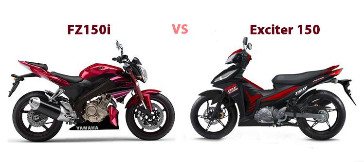 Exciter 150 và Fz150i - Nên chọn loại nào?