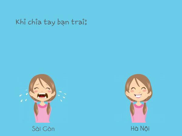 Con gái Hà Nội và Con gái Sài Gòn có gì khác?