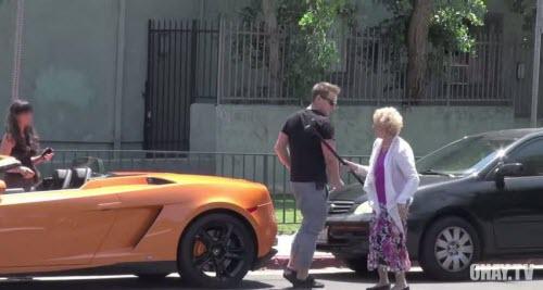 [ Prank ] Lamborghini thì ok, không thì tạm biệt