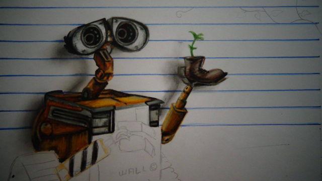 Chú rô-bốt Wall-E đáng yêu