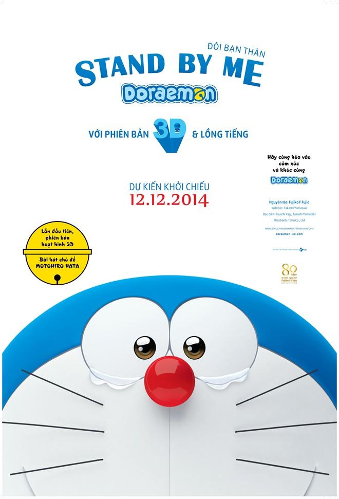 Mèo máy Doraemon bản 3D hẹn gặp khán giả Việt trong tháng 12