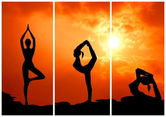 tập yoga buổi sáng