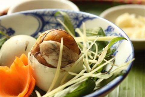 ảnh trứng vịt lộn, ẩm thực, lưu ý