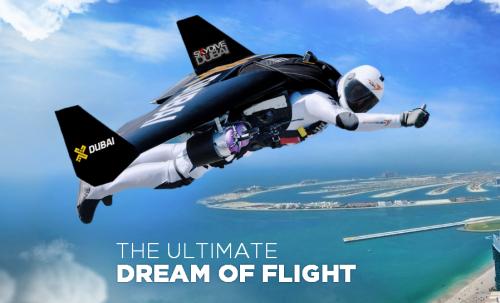2 chàng trai bay trên bầu trời Dubai cùng Jetpack