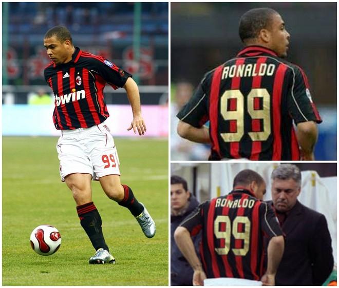 ảnh Beckham,Ronaldo,áo đấu,số áo