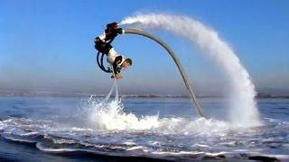 Trên tay hot girl và chơi flyboard