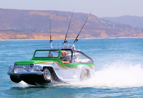 WaterCar Panther - Tôi cá là bạn chưa bao giờ thấy chiếc xe hơi nào đa năng như vậy