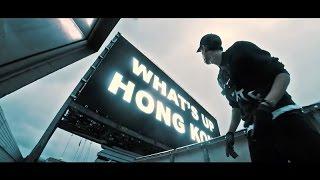 Hack billboard một tòa nhà chọc trời của Hồng Kông