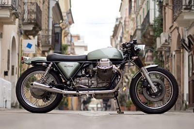 """Moto Guzzi """"Eroica"""" – Hòa trộn tinh tế của café racer và tracker"""