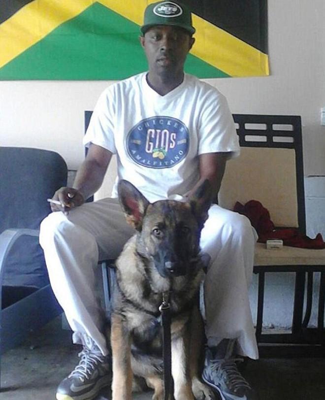 Chó chết vì chắn đạn cho chủ