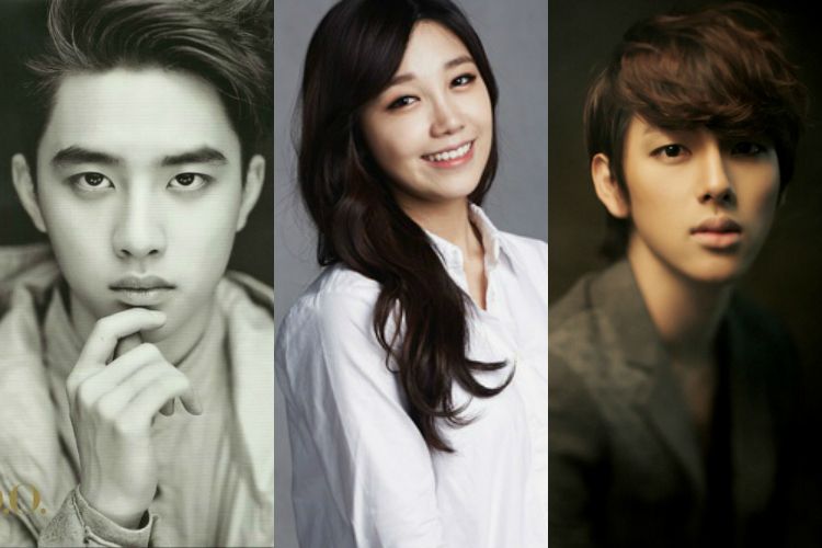 ảnh D.O,Entertainment Weekly,Eunji,EXO,Siwan