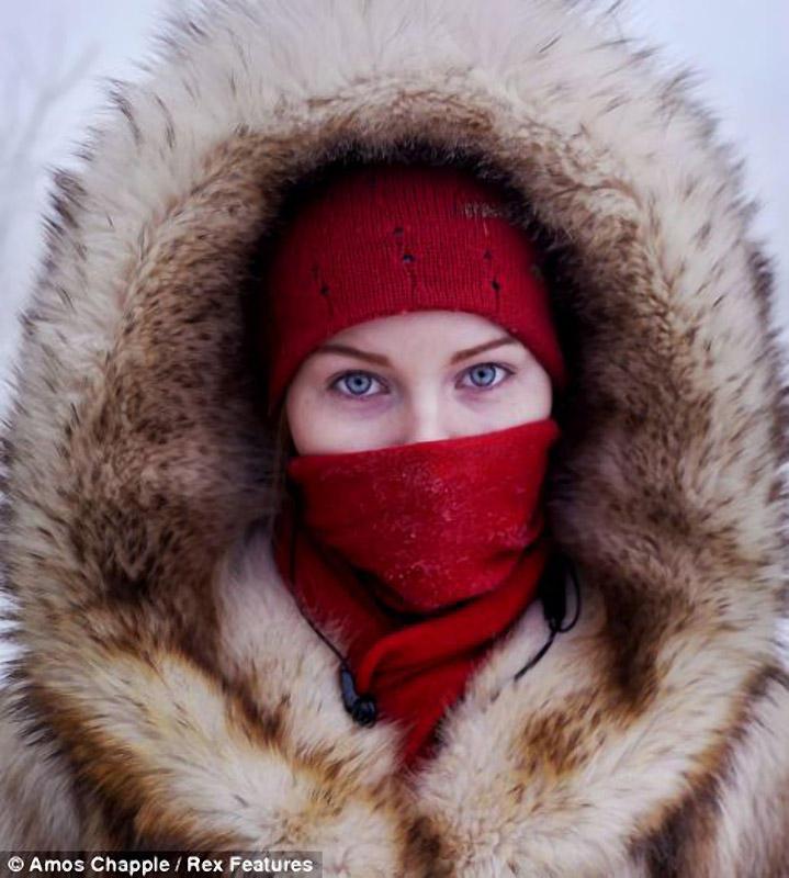 ảnh mùa đông, điểm cực lạnh