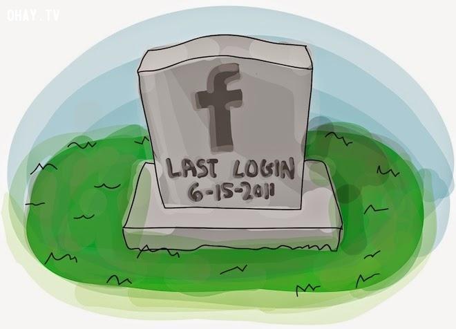 ảnh tài khoản mạng xã hội,mạng xã hội,facebook,google,người quá cố