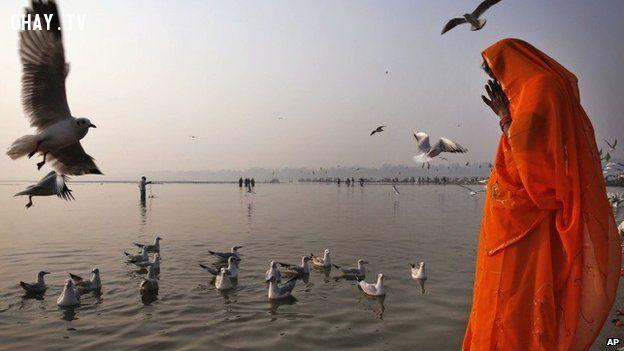 ảnh Sông Hằng,Ấn Độ,thi thể,ô nhiễm,người Hindu,thủy táng