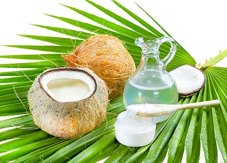 Chăm sóc da và tóc với dầu dừa
