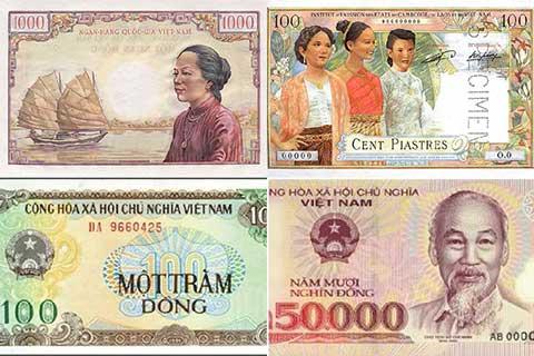 Nhìn lại lịch sử của đồng tiền Việt Nam
