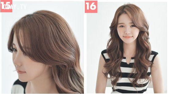 ảnh vấn tóc giả,uốn tóc nhanh chóng,hướng dẫn vấn tóc giả,tóc đẹp,làm đẹp tóc