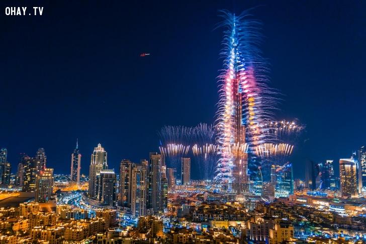 ảnh pháo hoa,bắn pháo hoa,bắn pháo hoa 2015,Burj Khalifa