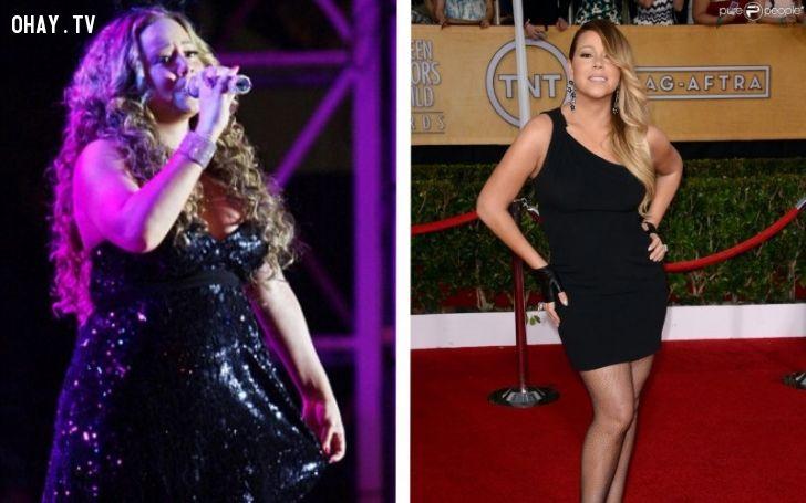 ảnh giảm cân,nổi tiếng,tập luyện,bí quyết,christina aguilera,jennifer hudson