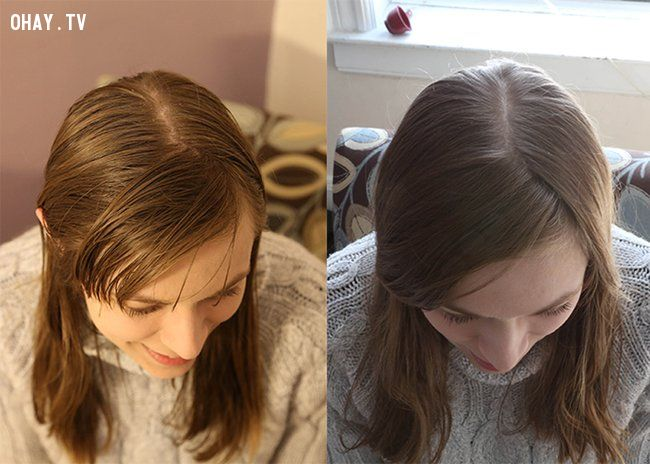 Trước và sau khi làm thí nghiệm