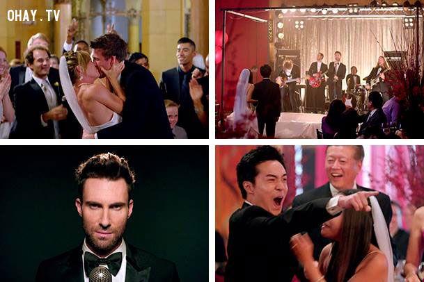 ảnh MAROON 5,đám cưới,phá đám