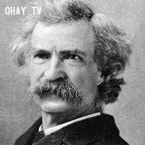 Nhà văn Mark Twain