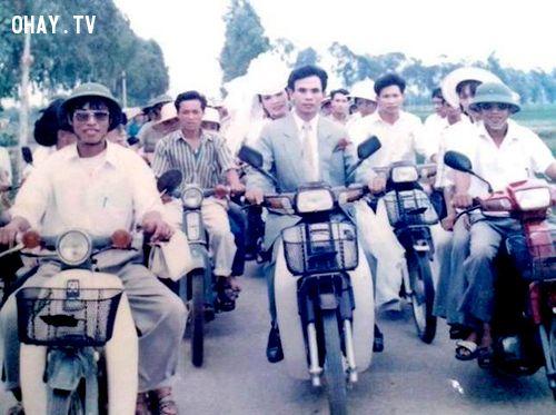 Ngày đó, những chiếc cub 50 hay sang hơn là Dream Thái cũng được xem là cả một gia tài với giá trị lên tới hàng cây vàng.