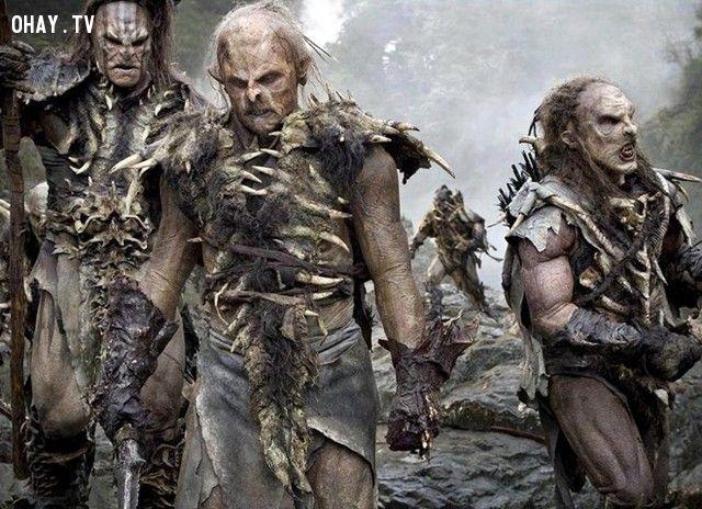 9 loài quái vật đáng sợ nhất thế giới 'Chúa nhẫn'