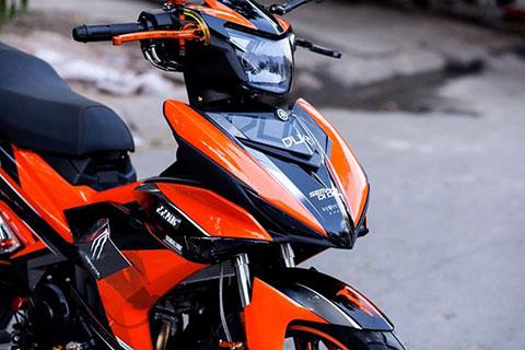 Hầm hố Exciter 150 độ của biker Sài Gòn