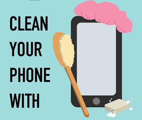 4 vật dụng trong nhà giúp bạn vệ sinh điện thoại cực dễ