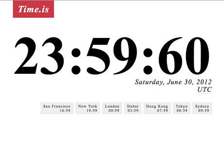 Internet năm 2015 có thể gặp sự cố chỉ vì... 1 giây đồng hồ
