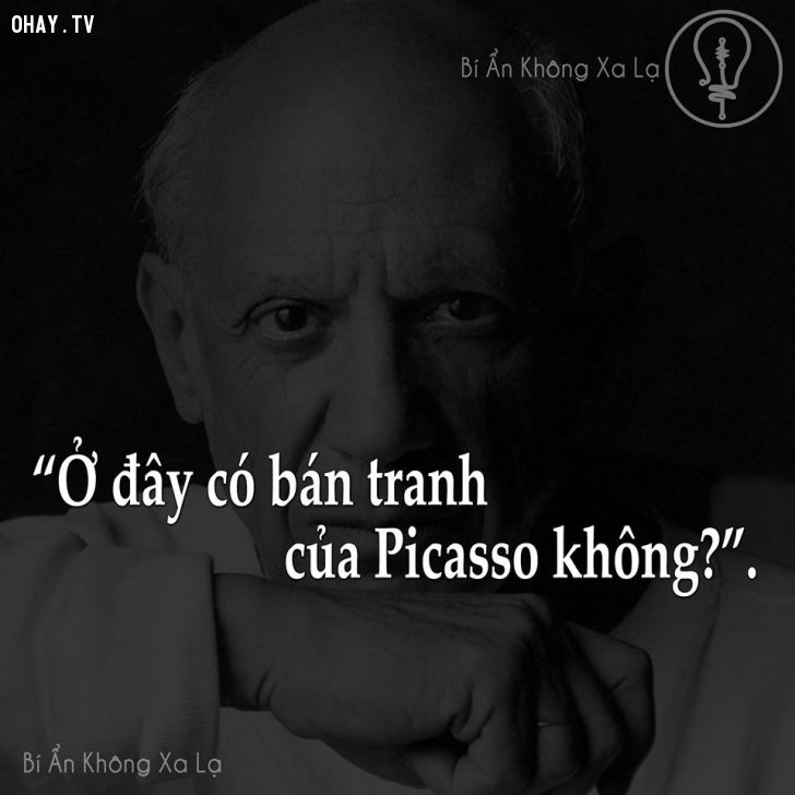 ảnh picasso,bài học cuộc sống