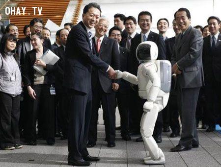 ảnh Asimo,robot,công nghệ tương lai