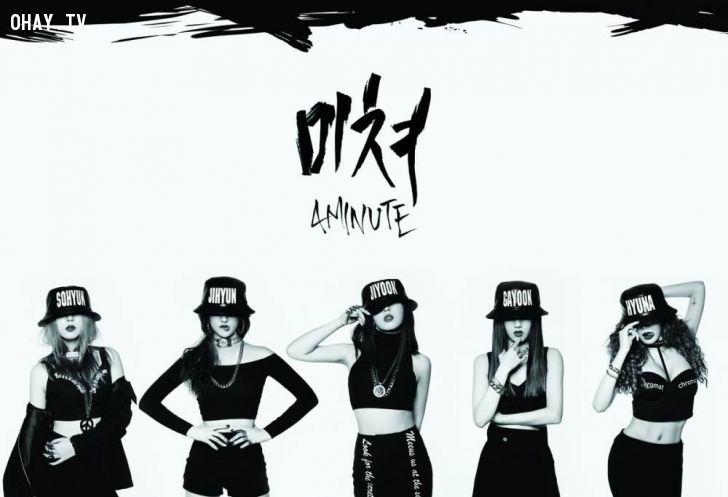 ảnh Crazy,4Minute,kpop,mv nhạc