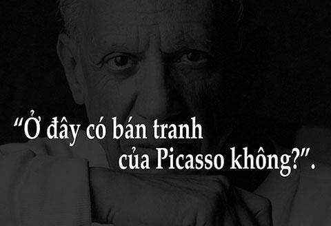 Một bài học hay từ câu chuyện của Picasso