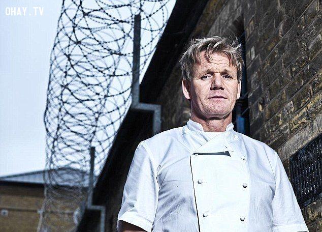 ảnh Gordon Ramsay,Master Chef,Plastic surgery,phẫu thuật thẩm mỹ,nếp nhăn