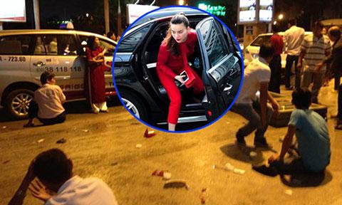 Xe ô tô đón Hồ Ngọc Hà: tông liên hoàn 11 người bị thương
