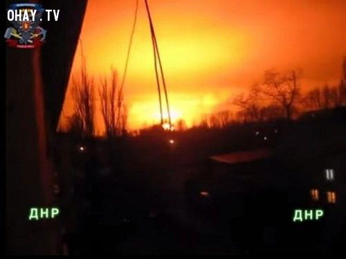 ảnh Ukraine,cháy nổ