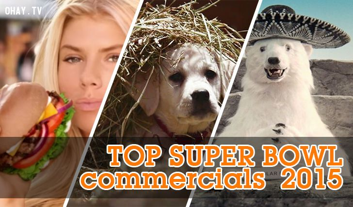 top super bowl commercials 2015
