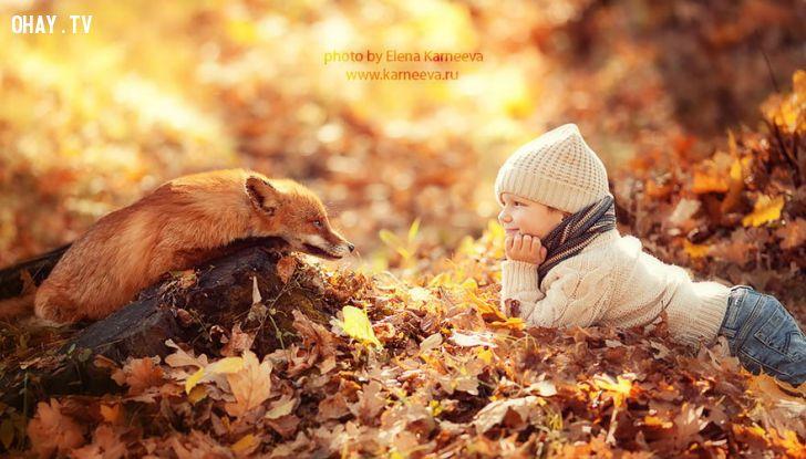ảnh cô bé người nga,động vật hoang dã,người nga,em bé,ảnh đẹp,hình ảnh