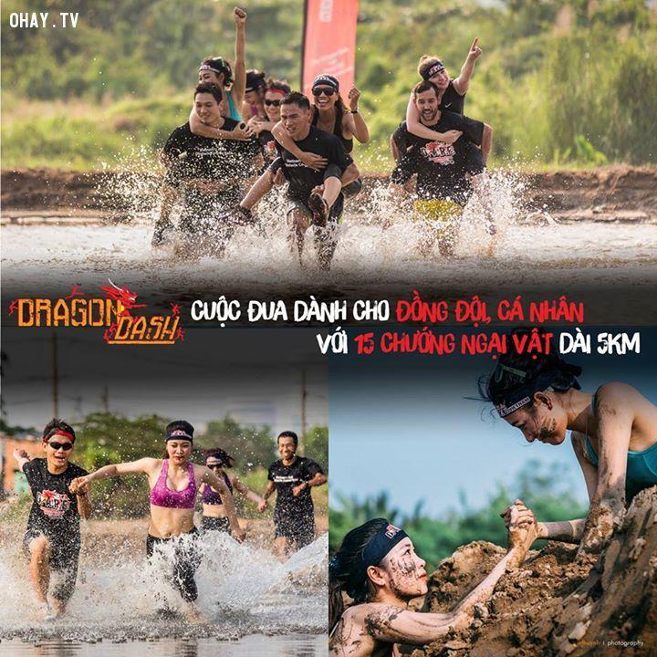 ảnh Dragon Dash,dare vietnam,vượt chướng ngại vật,trò chơi cảm giác mạnh