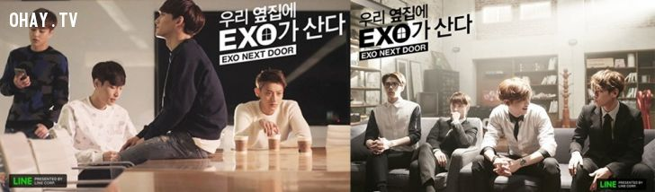 ảnh EXO,EXO Next Door,showbiz