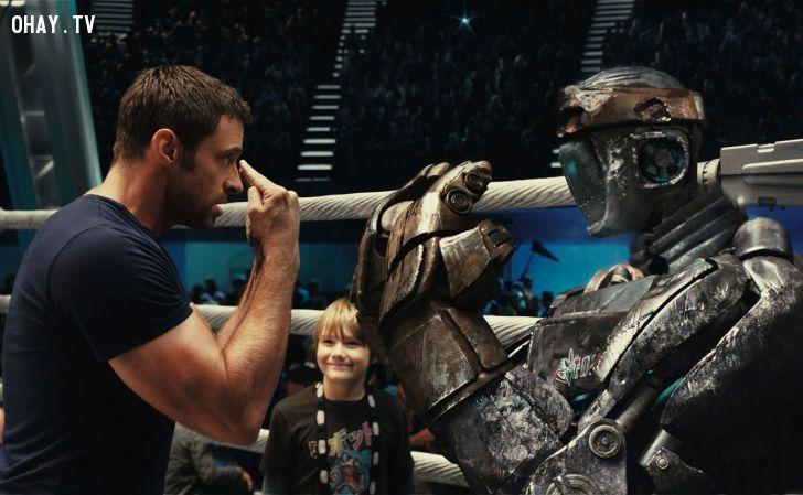 ảnh hugh jackman,robot