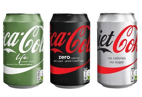 Coca-Cola tái thiết kế các bao bì sản phẩm ở Châu Âu