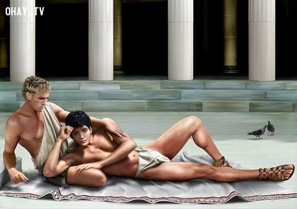 ảnh đồng tính,nổi tiếng,người nổi tiếng,alexander đại đế