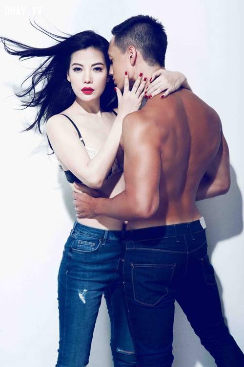 Độ hot các cặp sao Việt khi chụp ảnh bán nude