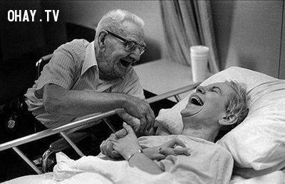 15 bài học về tình yêu từ những cặp đôi..... già