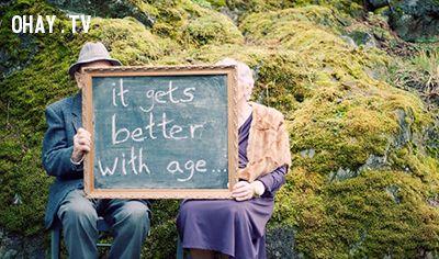 ảnh tình yêu,cặp đôi già,bậc thấy,hạnh phúc