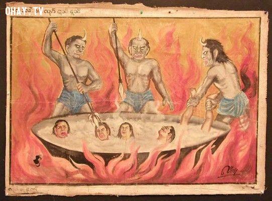 ảnh địa ngục,hình phạt,ám ảnh,ma quỷ,kinh dị,truyền thuyết